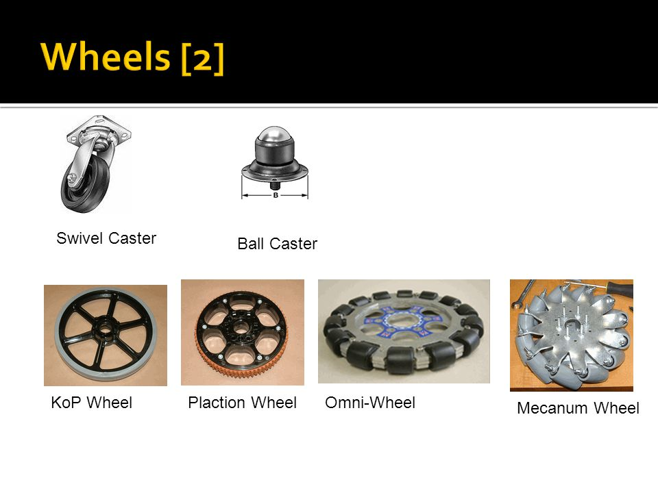 Wheels [2] Swivel Caster Ball Caster KoP Wheel Plaction Wheel